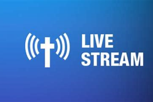 Live Streaming  of the Weekend Mass services Resume