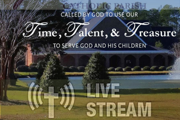 Live Streaming  of the Weekend Mass