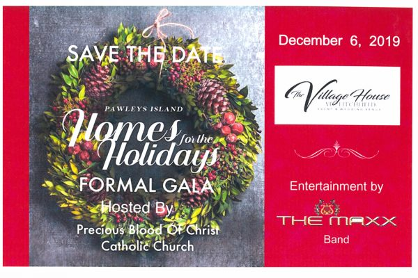 2019 Homes for the Holidays Gala -Save the Date
