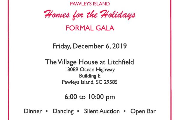 Homes for The Holidays Gala